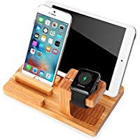Apple Watch Stand, Cell Phone Stand Charging Dock, Ptuna...