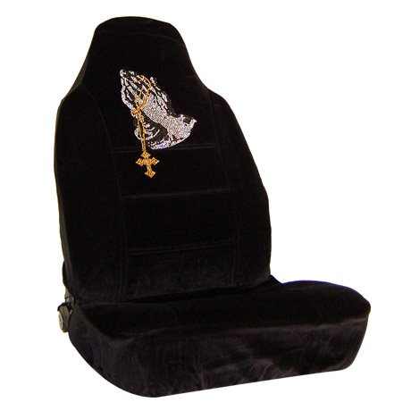 praying hands car seat covers - 1