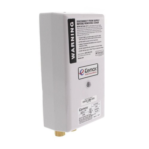 EX95 Flow Controlled Electric Tankless Water Heater w/ Bottom Connections by Eemax
