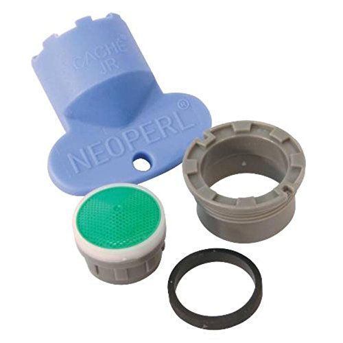 NEOPERL GIDS-106940 Water Saving Delta Replacement 1.5 GPM Cache Aerator Kit