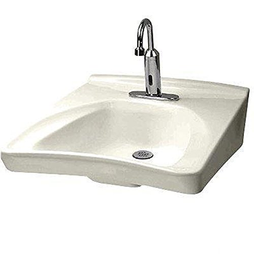 Toto LT308.11A-12 Commercial Wall-Mount Wheelchair User's Lavatory with Soap Dispenser and 11-Inch Faucet Centers, Sedona (Beige Wall Mount Sink)