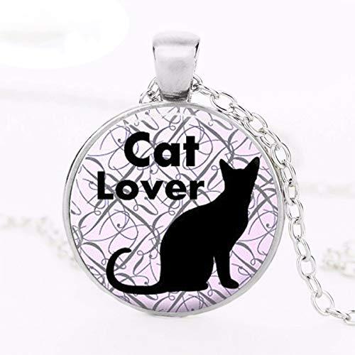 2019 - Collar para amantes de los gatos, diseño de gato: Amazon.es ...