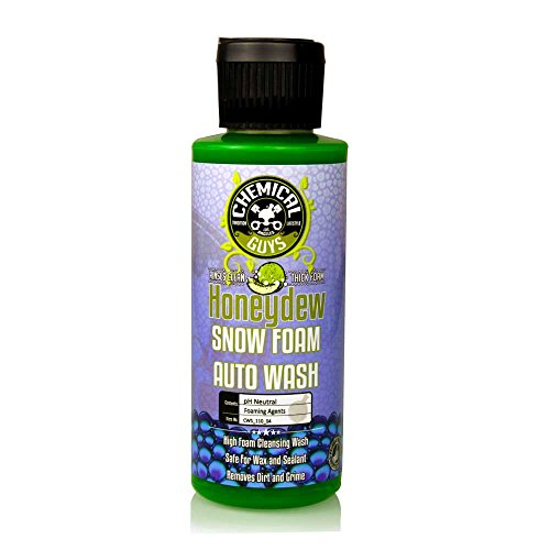 Chemical Guys CWS_110 Honeydew Snow Foam Car Wash Soap and Cleanser (1 Gal)
