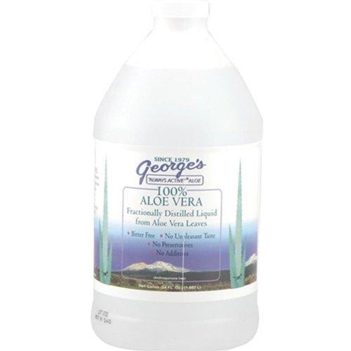 Aloe Vera Drink 64 oz George's Always Active Aloe 64 oz Liquid ()