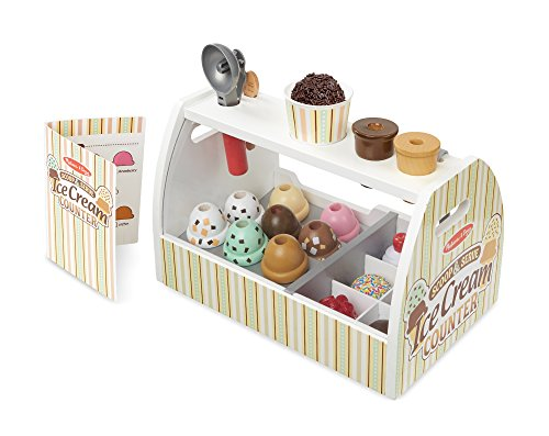 Melissa & Doug Wooden Scoop and Serve