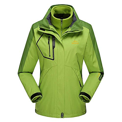 Hoodie Vert Assault Sport Des Piece Doublure Plein Polaire Manteau Air M Vert Vêtements Plus Casual Outwear Loisirs Parka Taille Femmes coloré Veste De Jacket Extérieure TxUBw