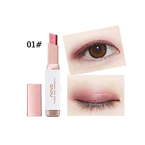 Professional Double Color Gradient Velvet Eye Makeup Shadow