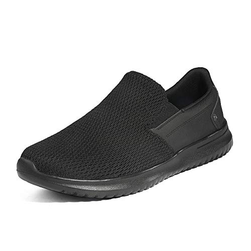 Bruno Marc Men's Slip On Walking Shoes Walk-Work-02 Black Size 11 M US