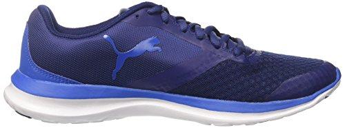 Puma Unisex-volwassenen Flext1 Sneaker Blau (blauw Diepte-wit-lapis Blauw)