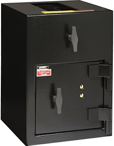 """14"""" Immediate Depository Safe Features: Top Load/Dual Control Key Lock, Spyproof Dial for Combination Lock: Not Included 41RLmwIs9yL"""