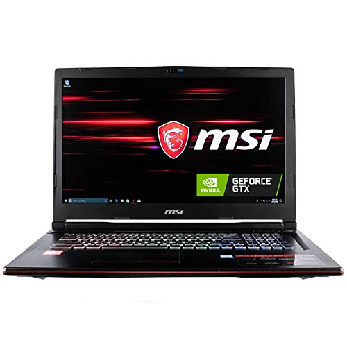 CUK MSI GP73 Leopard Gaming Laptop (8th Gen Intel Core i7-8750H, 32GB RAM, 1TB NVMe SSD + 2TB HDD, NVIDIA GeForce GTX 1060 6GB, 17.3