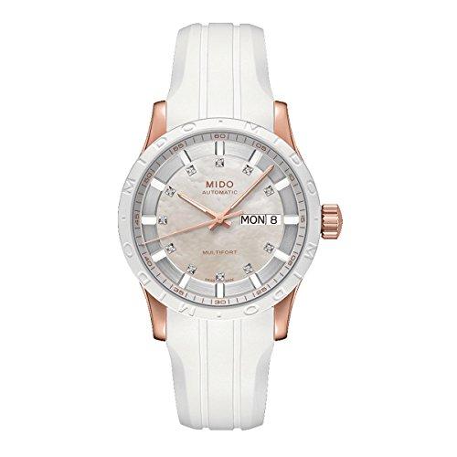 Mido Multifort II Automatic Diamond Ladies Watch M018.830.37.116.80