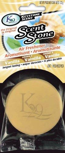 k29 KeyStone Scent-Stone Car and Home Air Freshener, Vanilla