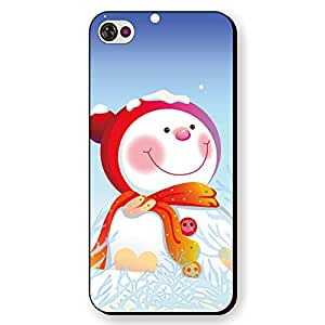 ANYPHONE-Year 2014 Merry Christmas Gifts Protective Skin Case Cover for iPhone 5C Black Frame