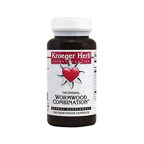 Kroeger HERB Kroger Wormwood Combination, 100 CT