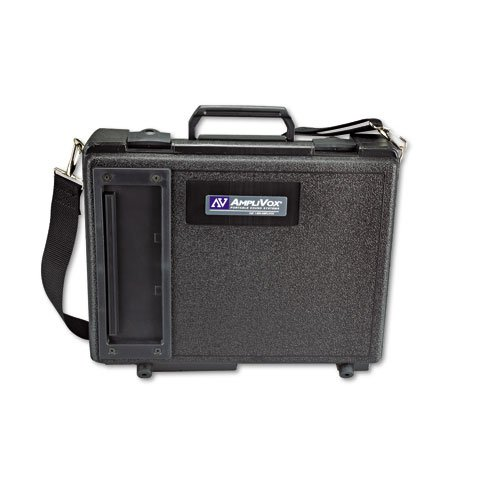 Amplivox S222 Audio Portable Buddy Professional PA System w/Pro Wired Mic amp;amp; 15-ft. Cable