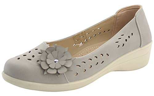 Comfort Honey Tree Shoe Ladies Shoes Slingback Grey Suckle 5P7Pan