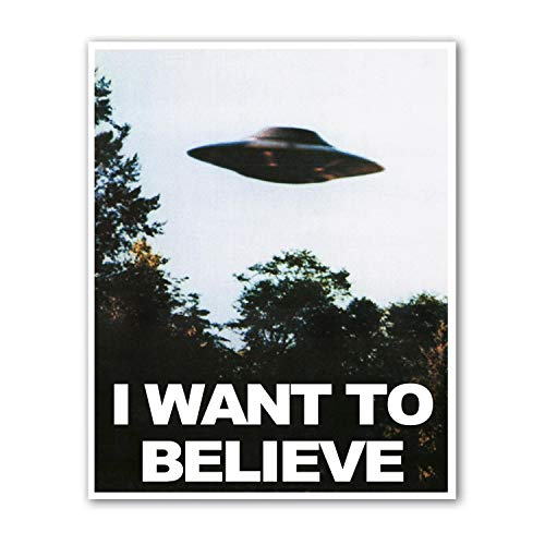 Believe Poster Print - Kai'Sa I Want to Believe Poster Art Print Posters,8×10 inches Unframed Canvas Print