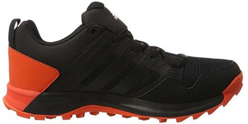 adidas Kanadia 7 Tr Gtx, Zapatillas de Running Para Asfalto Hombre Negro (Core Black/Energy)