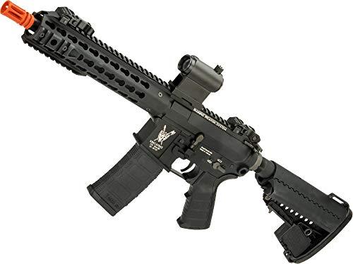 (Evike King Arms TWS M4 CQB Airsoft AEG with Keymod Handguard (Color: Black))