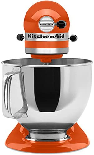 Kitchenaid Ksm150pspn Stand Mixer 325 W Orange Blender Stand Mixer Orange Stainless Steel 325 W Amazon Co Uk Kitchen Home