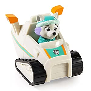Amazon com paw patrol racers everest vehicle toys amp games
