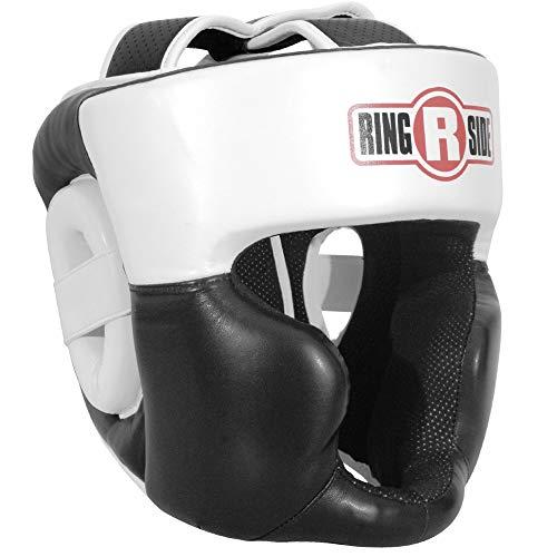 - Ringside New Full Face Training Headgear, Black, Large