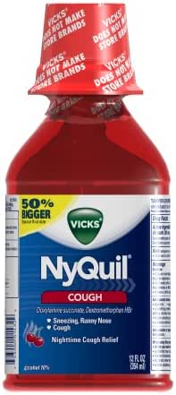 Cold & Flu: NyQuil Cough Liquid