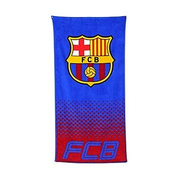 Equipo de Fútbol Oficial suave playa/toalla (algodón), diseño de palos de (de diferentes para elegir.), Barcelona FC: Amazon.es: Deportes y aire libre