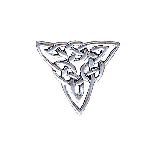 Jewelry Trends Sterling Silver Celtic Trinity Knot Brooch ()