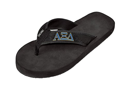 Alpha Xi Delta Flip Flops Black lpqBzv6WL