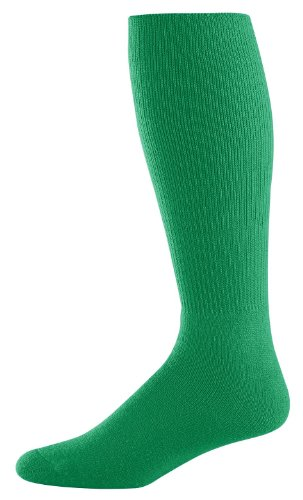 Athletic Socks - Youth Size 7-9, Color: Kelly, Size: 7 - 9 by Augusta Sportswear