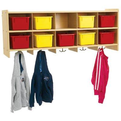 10-Section Wall Locker