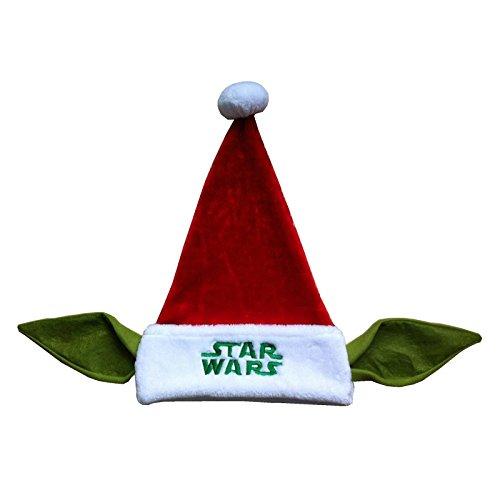 [Star Wars Yoda Santa Hat 20in.] (Yoda Costumes For Adults)