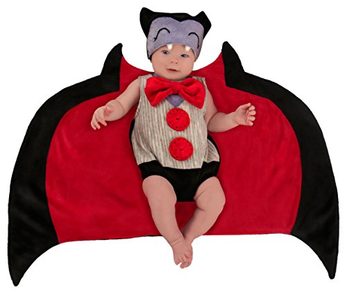 Princess Paradise Baby Swaddle Wings Drooly Drac Deluxe Costume, 0/3M