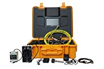 VETUS INSTRUMENTS WPS710DN Pipe Sewer Inspection Video Camera Pipeline Inspection Monitor Waterproof IP68 30m 7 Inch TFT LCD Monitor DVR Recorder 32GB SD Card Drain Industrial Endoscope Borescope