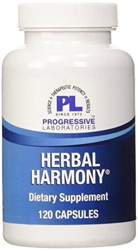 Progressive Labs Herbal Harmony Supplement, 120 Count