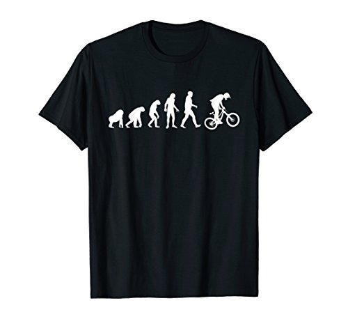 Evolution Downhill Mountain Bike MTB Mountain Biking T Shirt