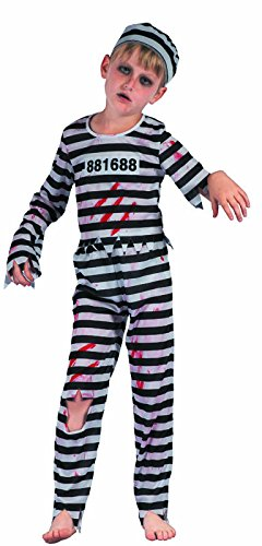 P tit payaso re91080 - Disfraz Niño Bagnard Zombie, S 4/6 años ...