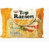 Nissin Top Ramen Oodles of Noodles Chicken Flavor 24/2.25oz 24-pack