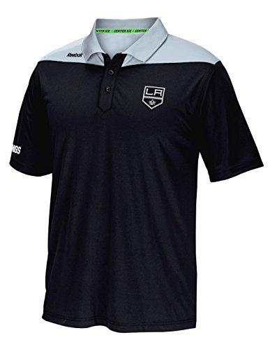 Reebok Los Angeles Kings NHL 2016 Center Ice Statement Speedwick Polo Shirt