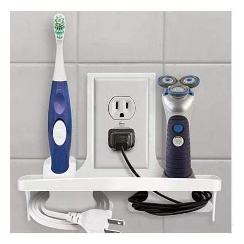 (Wall Outlet Organizer Storage for Your Home Office Bathroom)