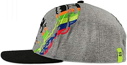 Valentino Rossi Grey VR46 Dottorino Snapback Cap