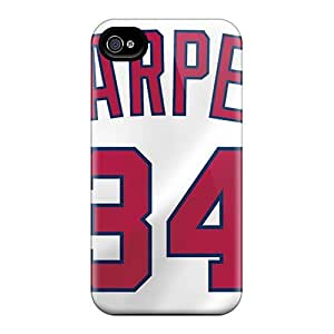 Protective Hard Phone Cases For Iphone 6 With Customized HD Washington Nationals Pictures AaronBlanchette