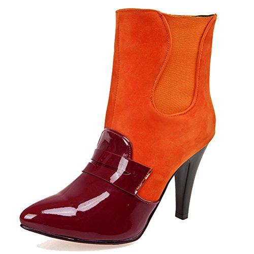 Orange HiTime 42 Arancione Chelsea Stivali Donna nqqI0U