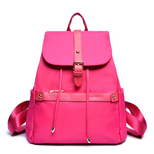 La Sra versión coreana de la mochila/Colegio viento bolsas de viaje de la moda minimalista-A E