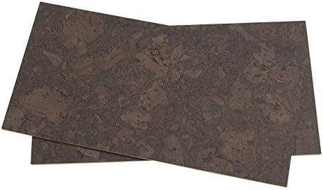 8 mm nogal Burlwood 8 mm corcho pared azulejos 12
