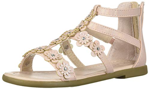 The Children's Place Girls' Sandal, Pink, Youth 5 by The Children's Place
