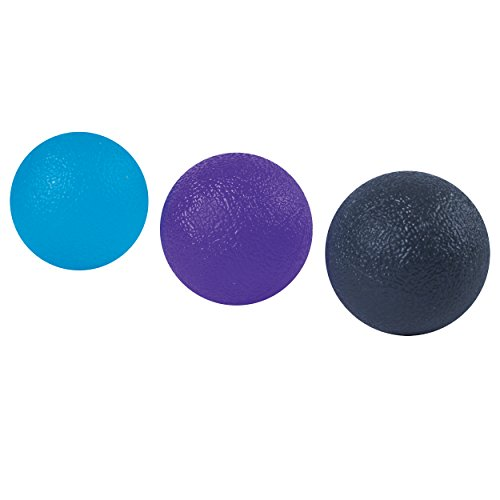 Spirit TCR Hand Strengthening Balls, Teal/Lavender/Silver For Sale