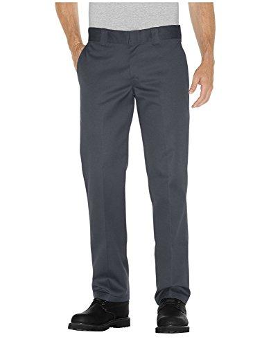 Hombre Straight Pantalones Para Gris Dickies qzO1Bxwx